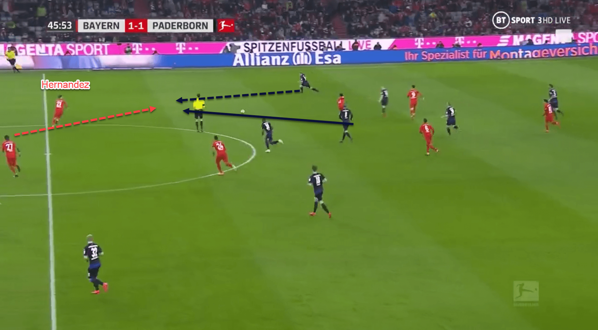Lucas Hernandez at Bayern Munich 2019/20 - scout report