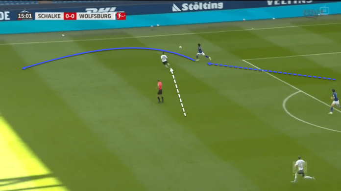 Bundesliga 2019/20: Schalke vs Wolfsburg - tactical analysis tactics